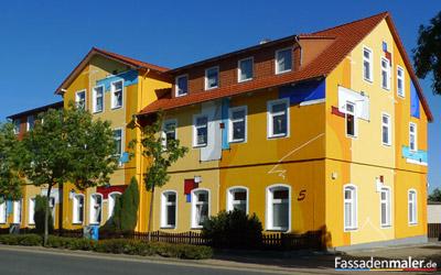 Moderne Fassadenmalerei An Haus Und Wandfassaden Vom Profi